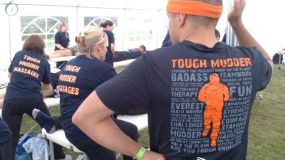 Tough Mudder Massage