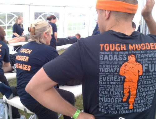 Tough Mudder Massages